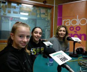 Entrevista de Radio Fene polo Mercadiño de Nadal