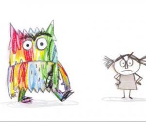 O Monstro das cores e a súa amiguiña van expresar o que senten nestes días.