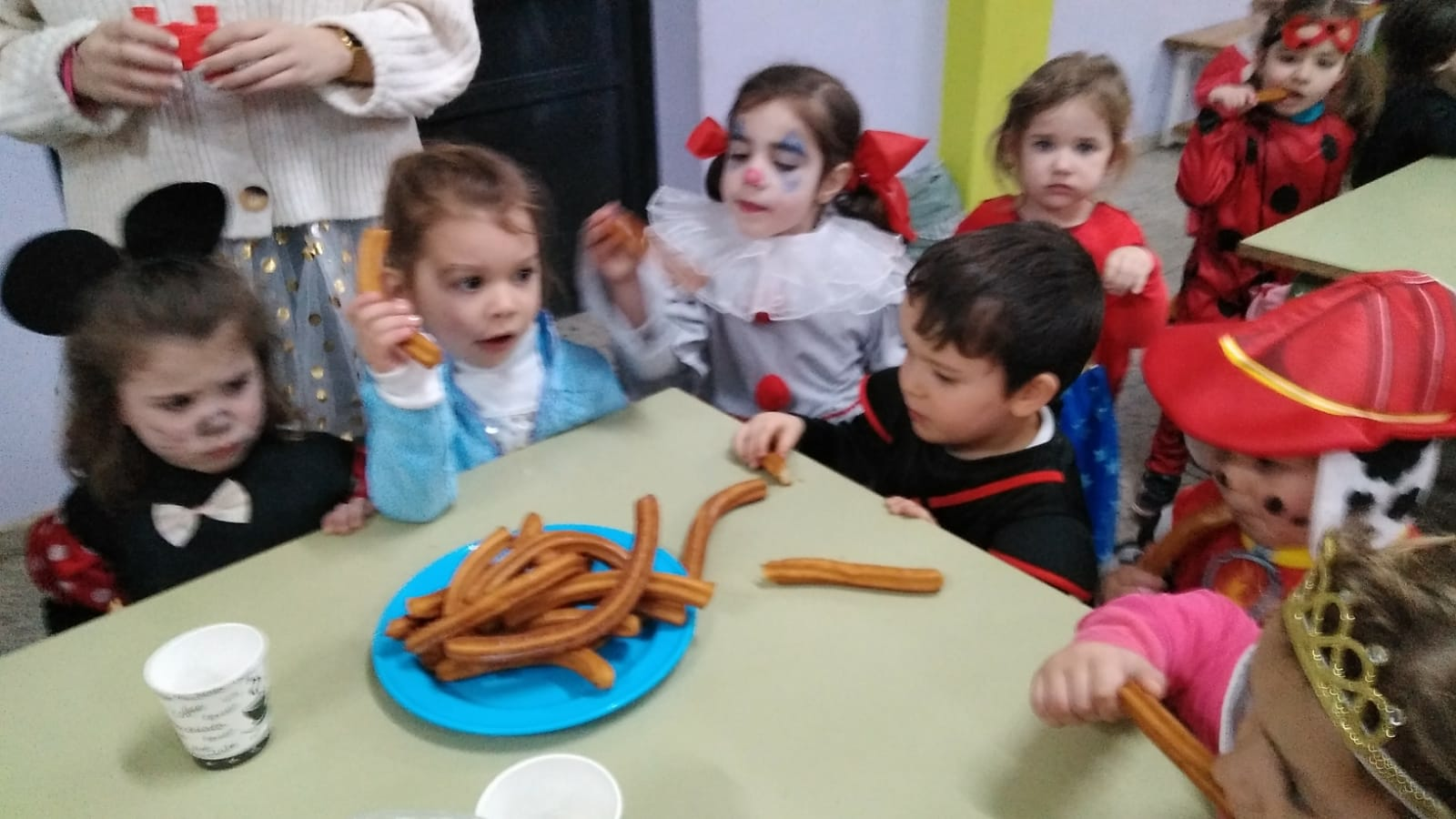 Chocolatada fin Entroido Ed.Infantil