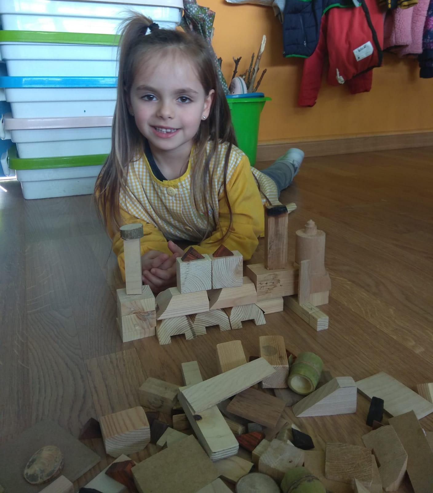As creacións das nenas e nenos de 5 anos da clase da profe Adri.